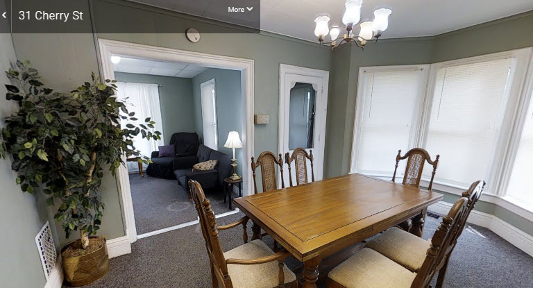 31 Cherry Street, 6 Bedroom House, Oneonta Student Rentals, Off Campus Housing, SUNY Oneonta and Hartwick College.